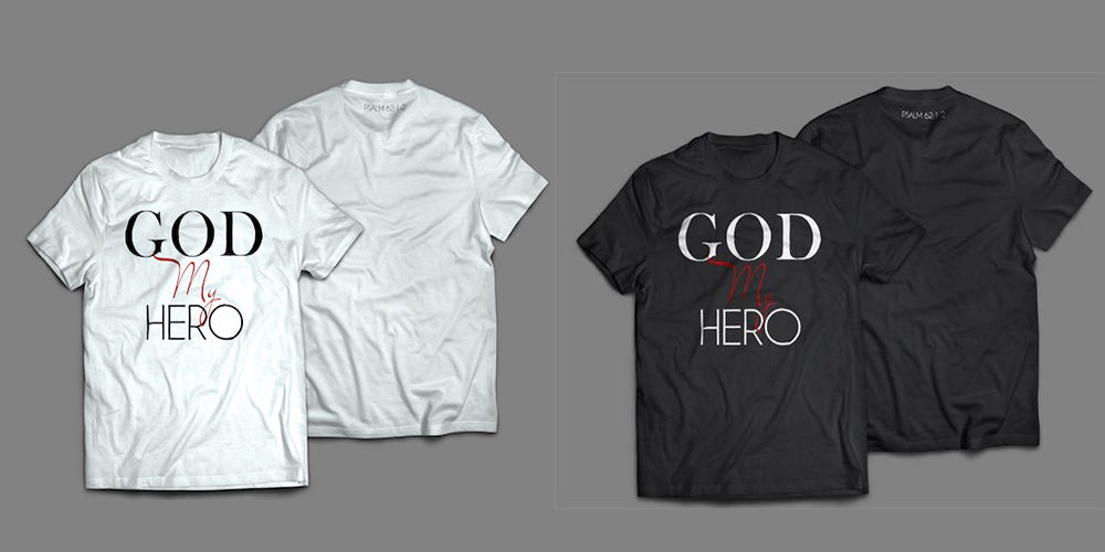 Image of GOD MY HERO TSHIRT