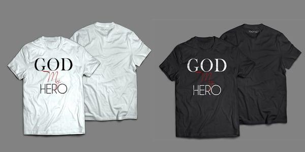 Image of GOD MY HERO TSHIRT