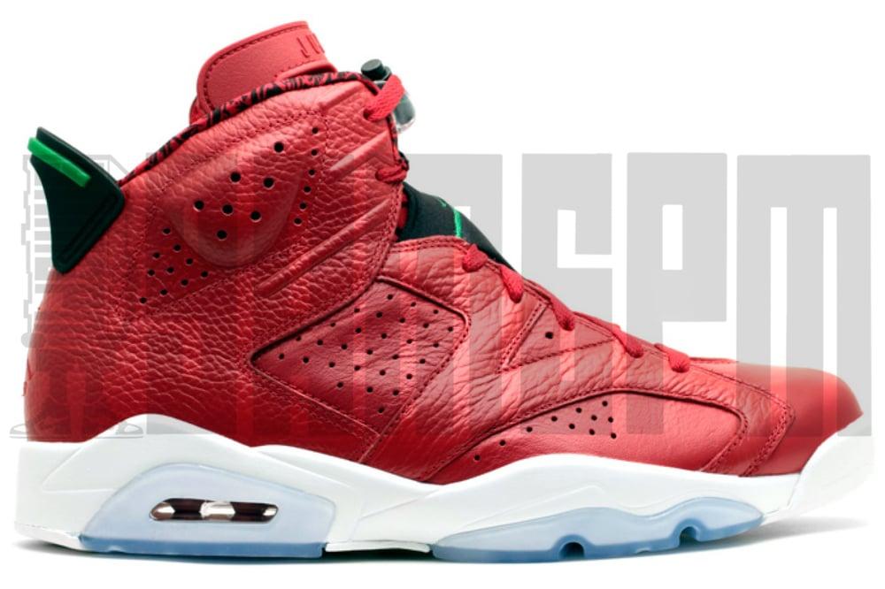 """Image of Nike AIR JORDAN 6 RETRO SPIZIKE """"HISTORY OF JORDAN"""""""