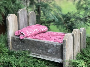Image of Picket Fence, Bitsy, Woodsy, Newborn Wood Bed Photo Prop