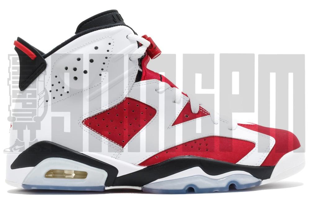 "Image of Nike AIR JORDAN 6 RETRO ""CARMINE"""