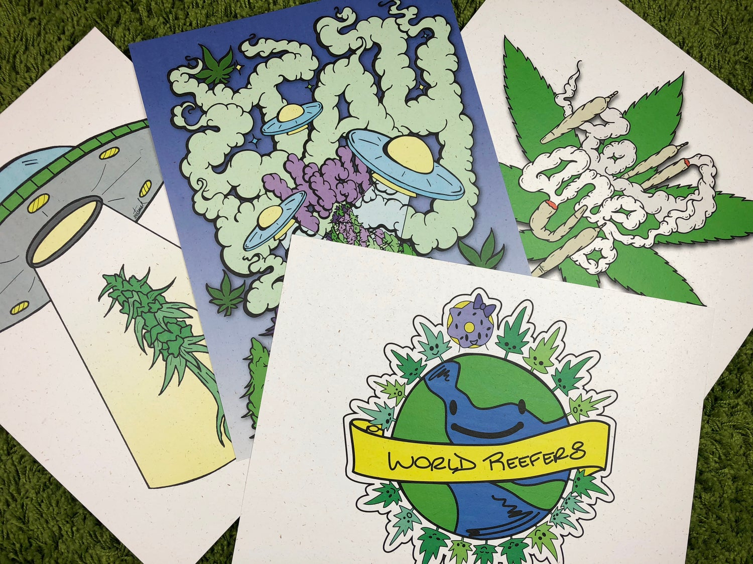 Image of Hemp Paper Posters