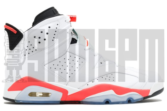 "Image of Nike AIR JORDAN 6 RETRO ""WHITE INFRARED"""