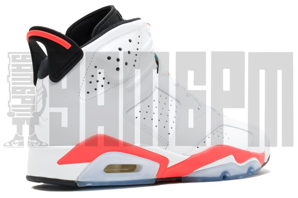 """Image of Nike AIR JORDAN 6 RETRO """"WHITE INFRARED"""""""