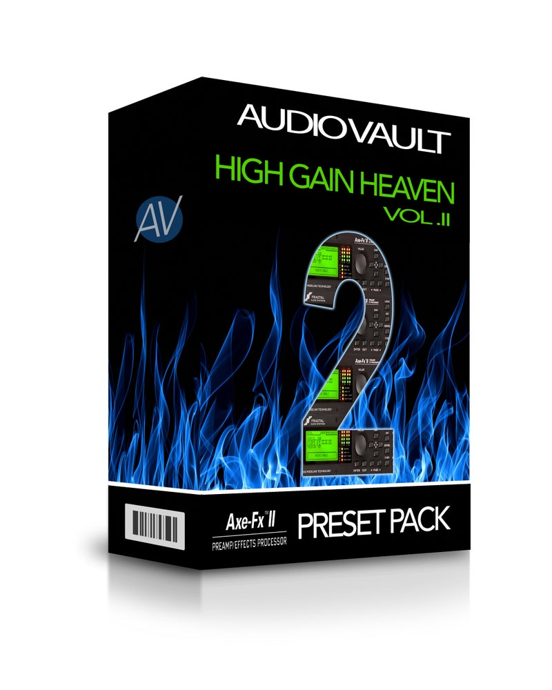 Image of Axe FX II Presets: High-Gain Heaven Vol. II