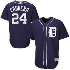 Image of Miguel Cabrera Detroit Tigers Baseball Jersey