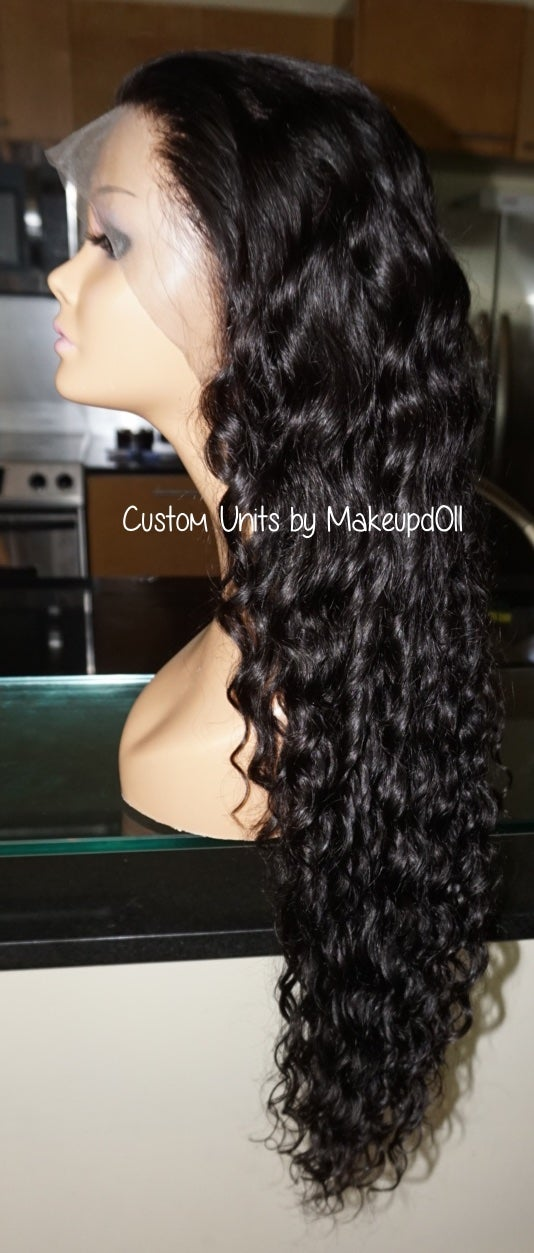 "Image of Cambodian Natural Wave 26"" Custom Lace Frontal Wig!"