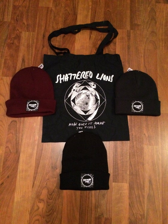Image of HDIMYF TOTE BAG + BEANIES