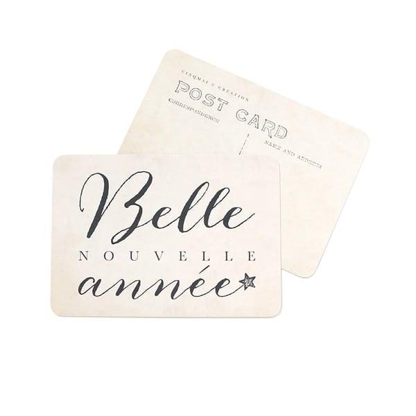 Image of Carte Postale BELLE NOUVELLE ANNÉE / VINTAGE PAPER