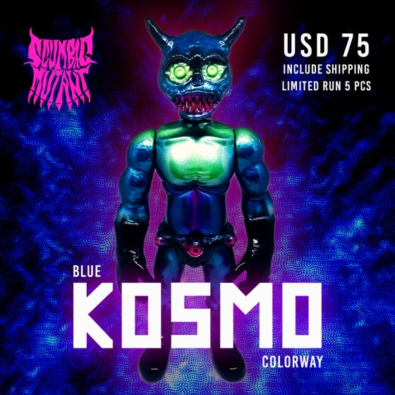 "Image of Hanxxo ""BLUE KOSMO"" Colorway"