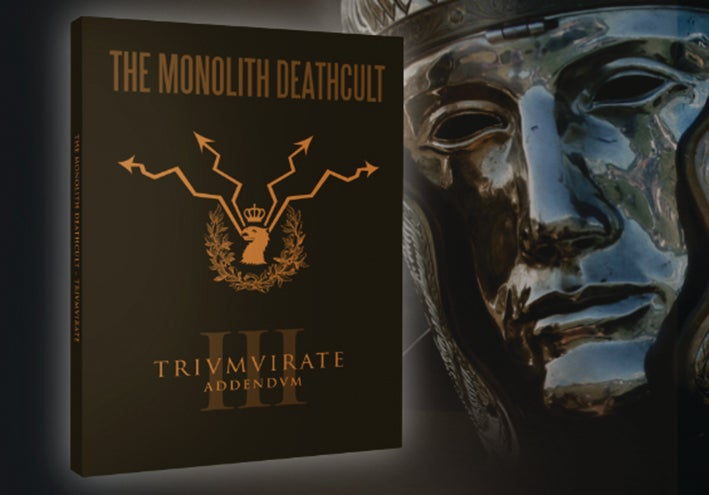 Image of THE MONOLITH DEATHCULT - Trivmvirate, Addendvm. Deluxe CD.