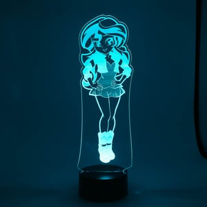 LED lit acrylics