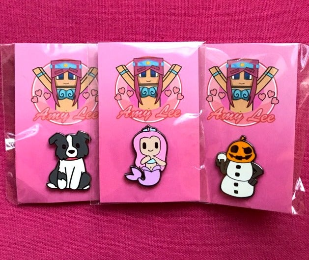 Image of LIMITED EDITION PIN SET!