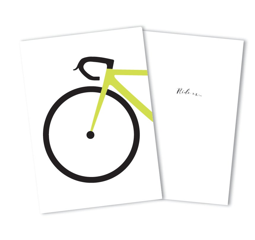 Image of Ride On, gift card - Green