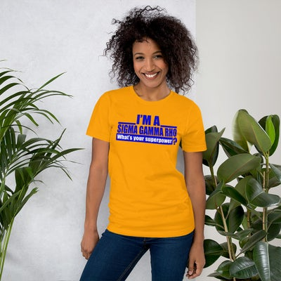 Image of SGRho Power Short-Sleeve T-Shirt