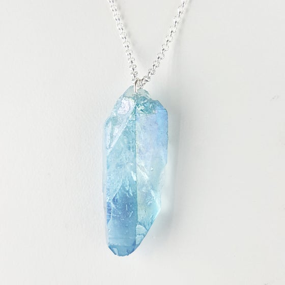 Image of Aura Necklace (Raw stone)