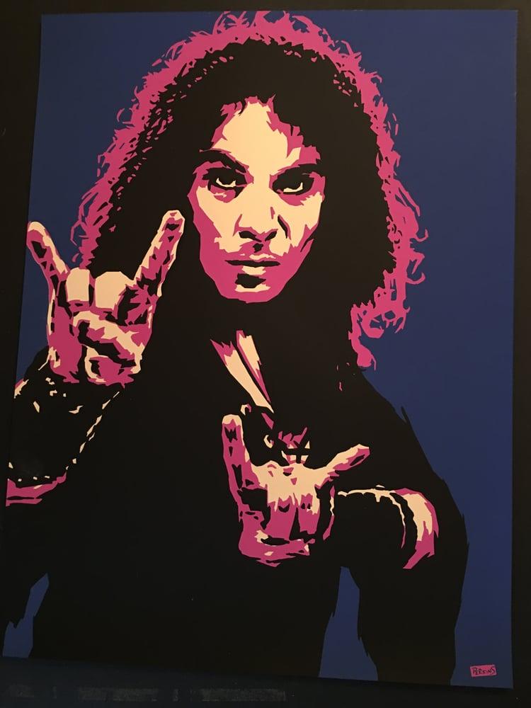 "Image of ""Perkins 77"" Art Print Series - Ronnie James Dio #7718"