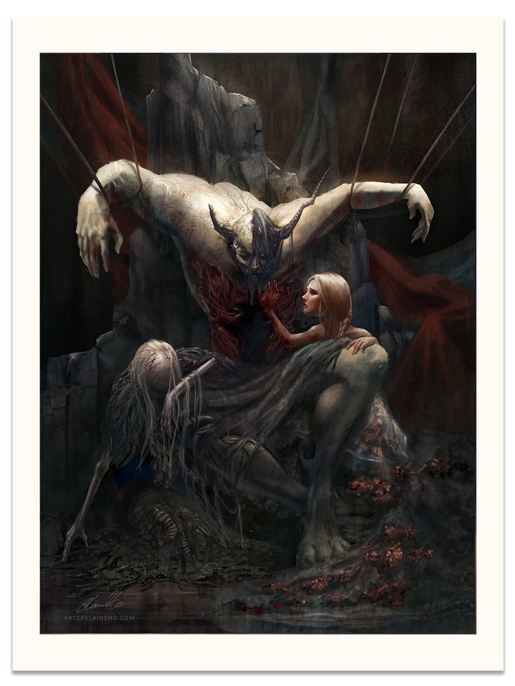 Image of The Broken King - Limited Edition Giclee