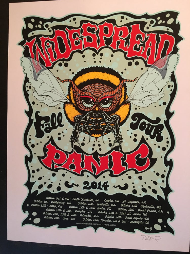 Image of Widespread Panic - Fall Tour 2014 poster