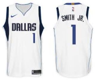 Image of Dennis Smith Mavs Jersey