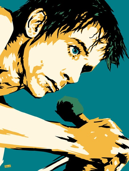 "Image of ""Perkins 77"" Art Print Series - Iggy Pop #7717"