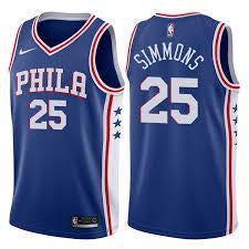 Image of Ben Simmons Sixers Jersey