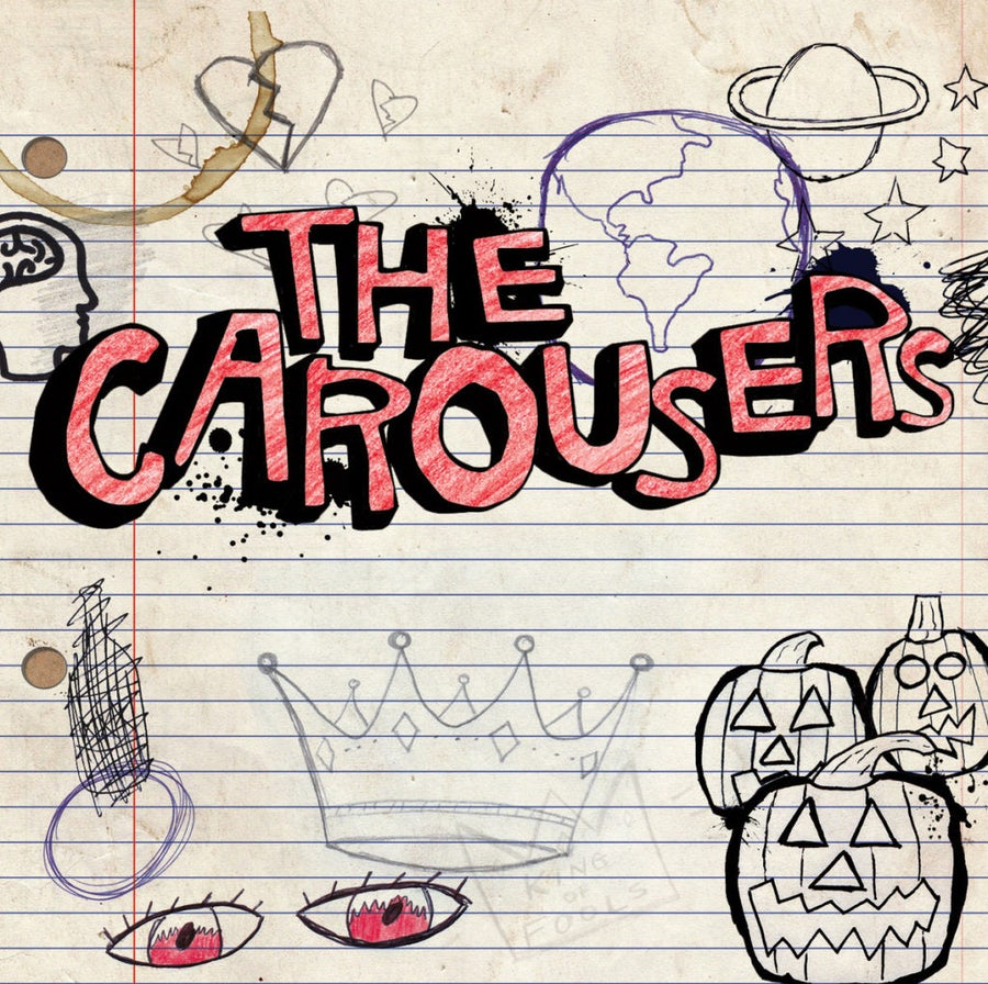 Image of 'The Carousers' Self-Titled EP (Compact Disc)
