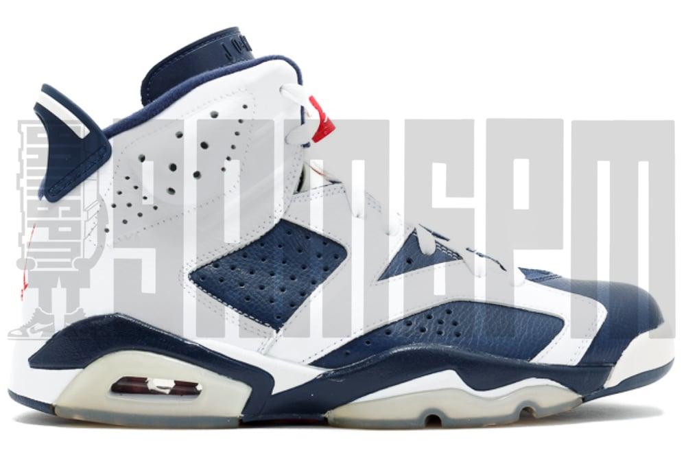"""Image of Nike AIR JORDAN 6 RETRO """"OLYMPIC"""""""
