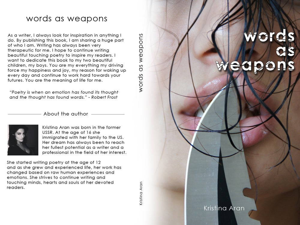 Image of Words As Weapons by Kristina Aran- digital copy (pdf)