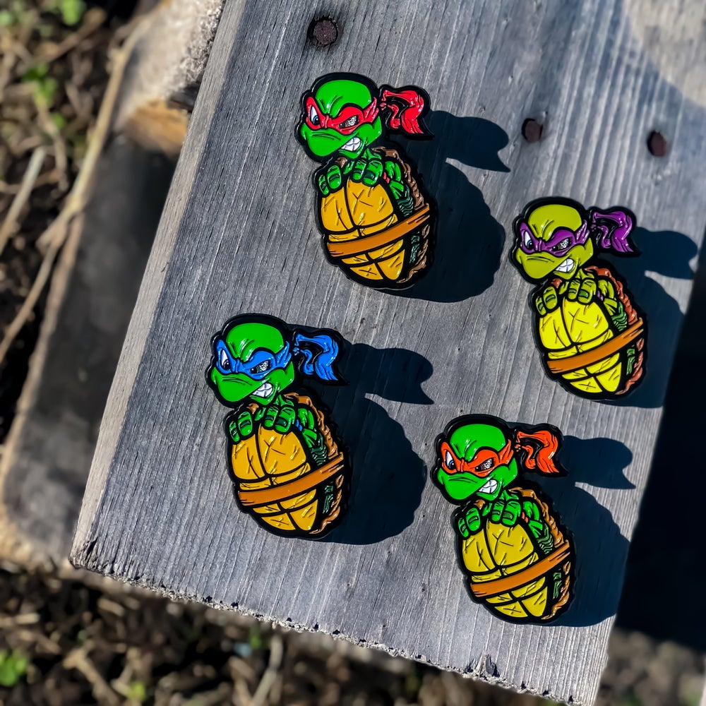 Image of Turtle Boi Pin Set