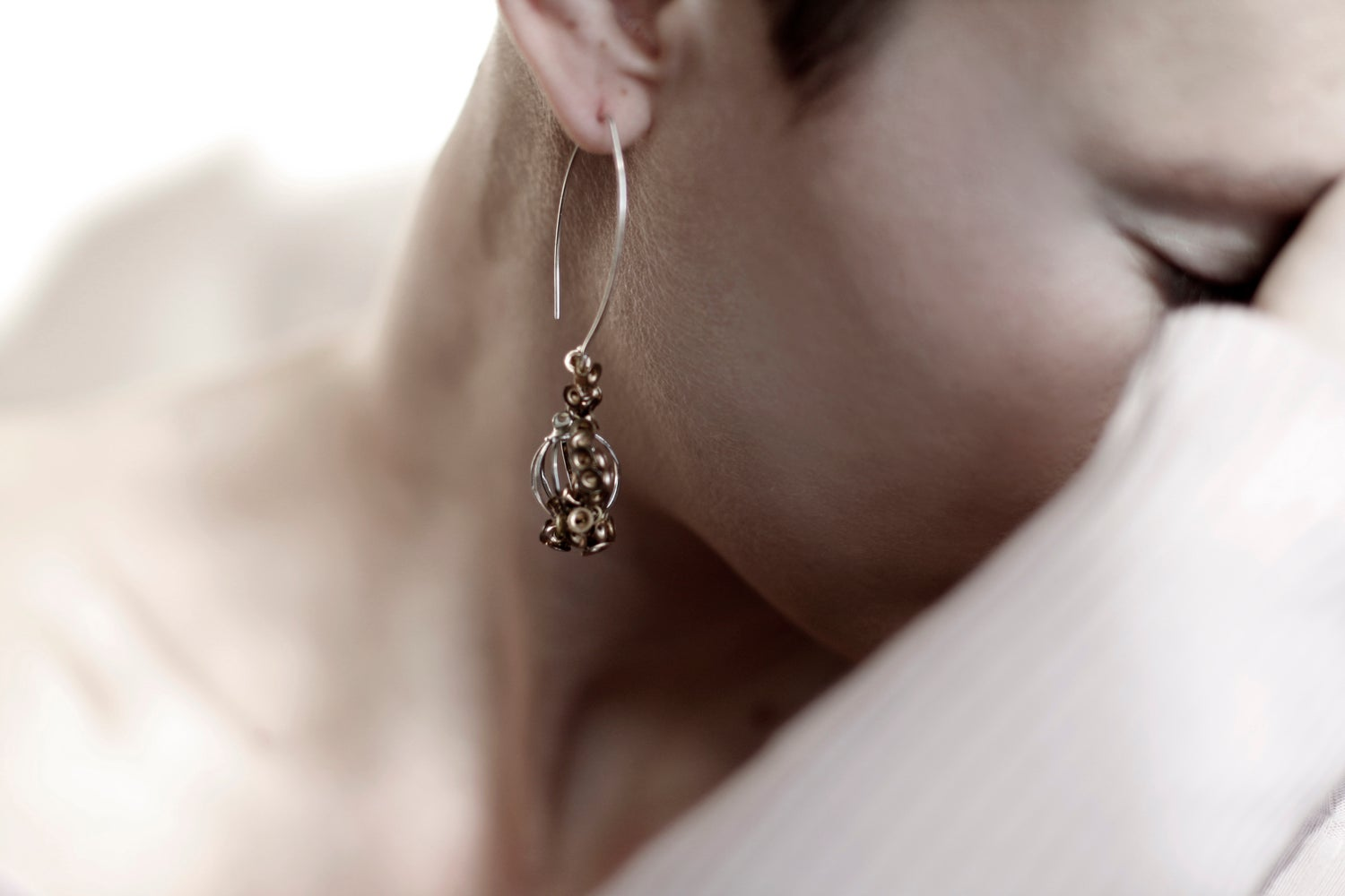 Image of Hide & Seed earrings