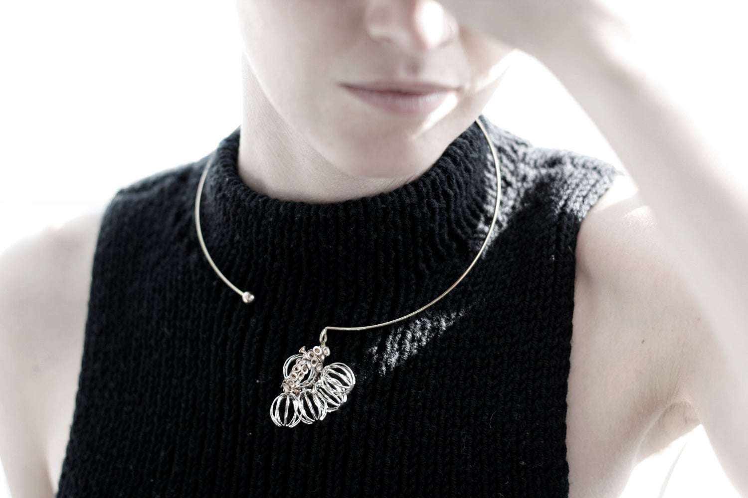 Image of Hide & Seed necklace