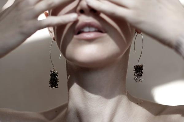 Image of Doug fir earrings