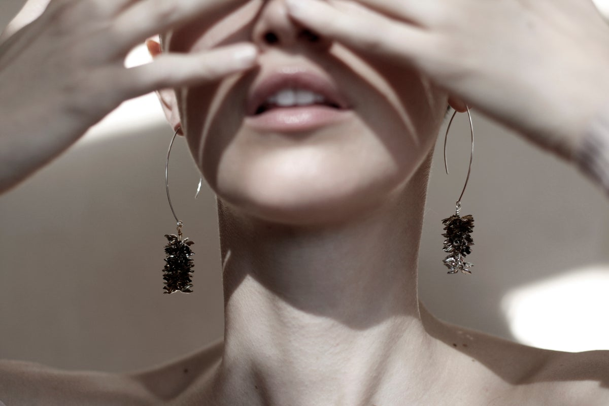 Image of Doug fir earrings