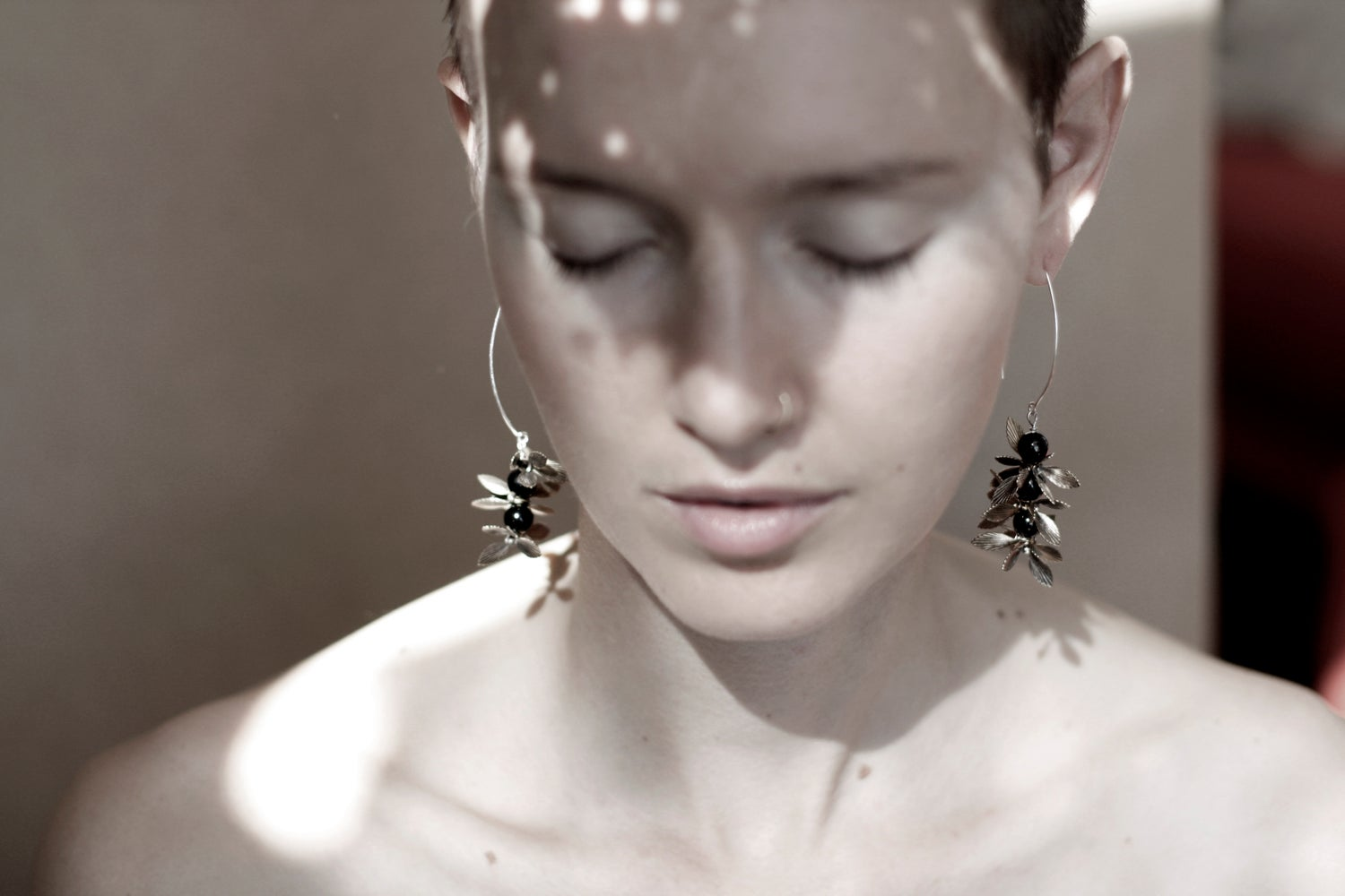 Image of Nightshade earrings