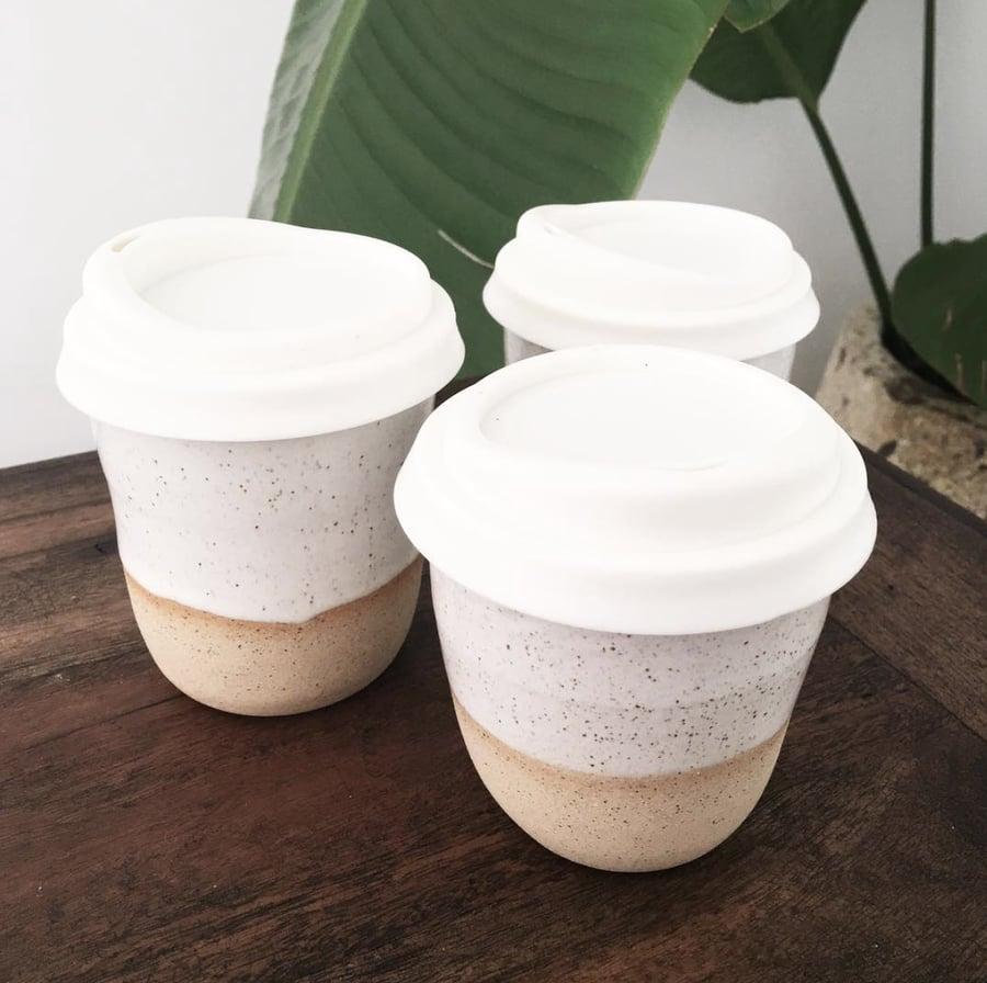 Image of Handmade Ceramic Coffee Cup