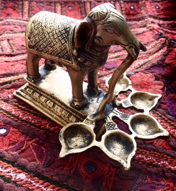 Image of Elephant 5 Deep Diya