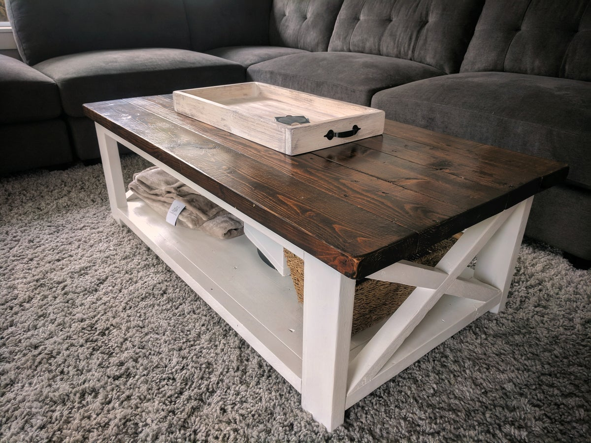 Rustic Farmhouse Coffee Table Diesel Boxer
