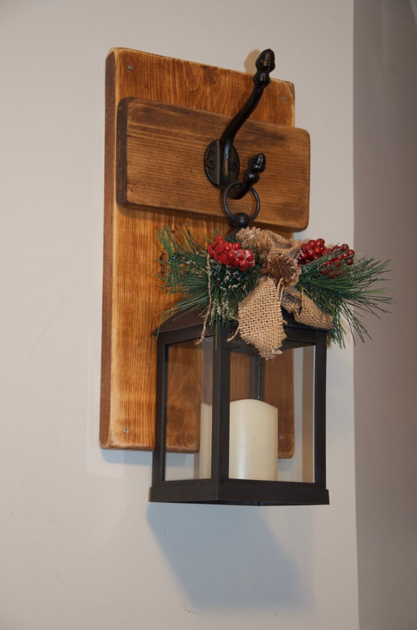 Image of Rustic Shelves w/ hook