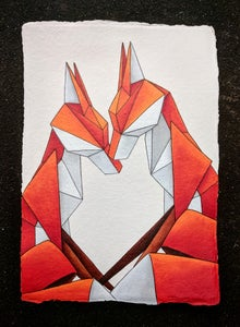 Image of 'Protector' original painting