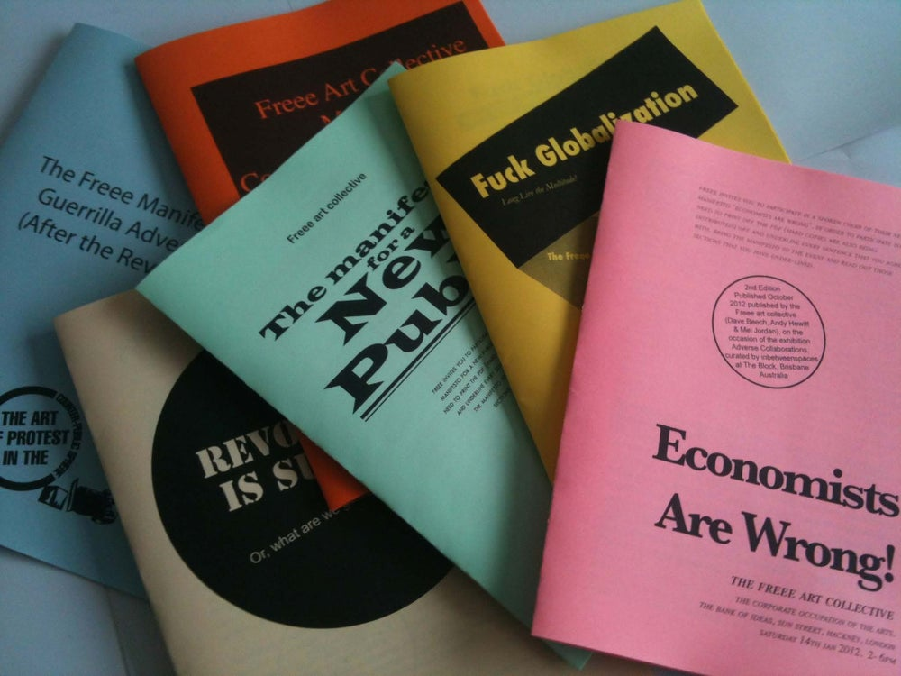 Image of Freee Art Collective Pamphlet Series