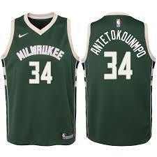 Image of Youth GIANNIS ANTETOKOUNMPO bucks Jersey