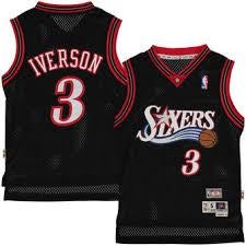 Image of Youth Allen Iverson Sixers Jersey