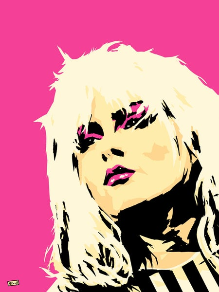 "Image of ""Perkins 77"" Art Print Series - Debbie Harry #7703"