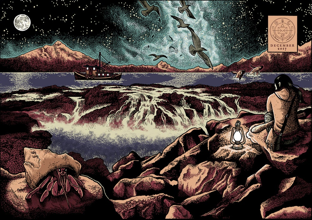 The Ocean: Cryptogram Puzzle Post -  Cryptogram Puzzle Post