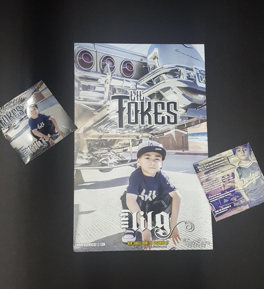 Image of LIL TOKES - MY LIL G CD SINGLE [PHYSICAL COPY]
