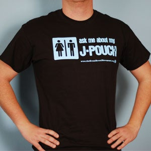Image of Ask Me About My J-Pouch T-Shirt - Youth