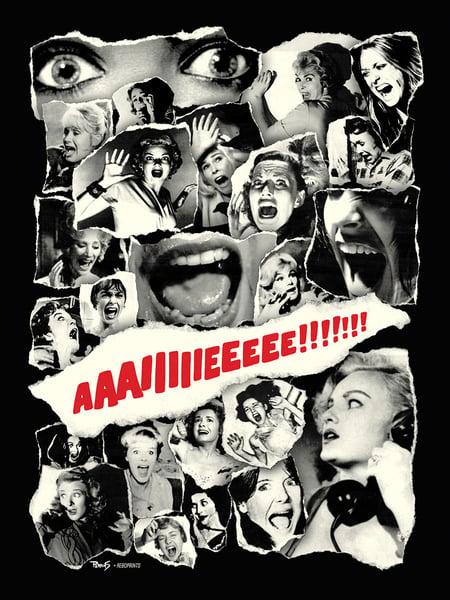 "Image of ""Scream Queens"" art print"