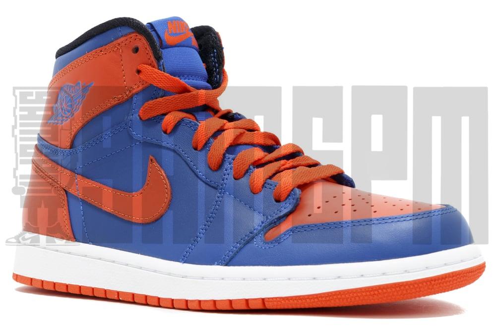 "Image of Nike AIR JORDAN 1 RETRO HIGH OG ""KNICKS"""