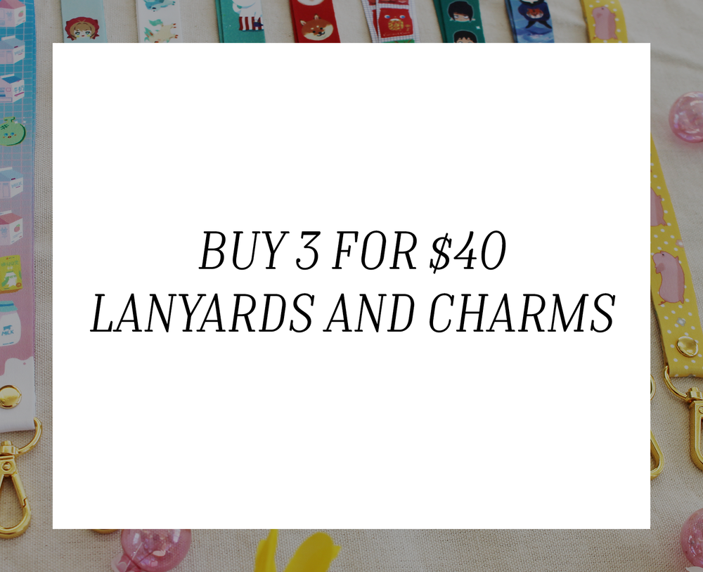 Image of COMBO SPECIAL : Lanyards and Charms